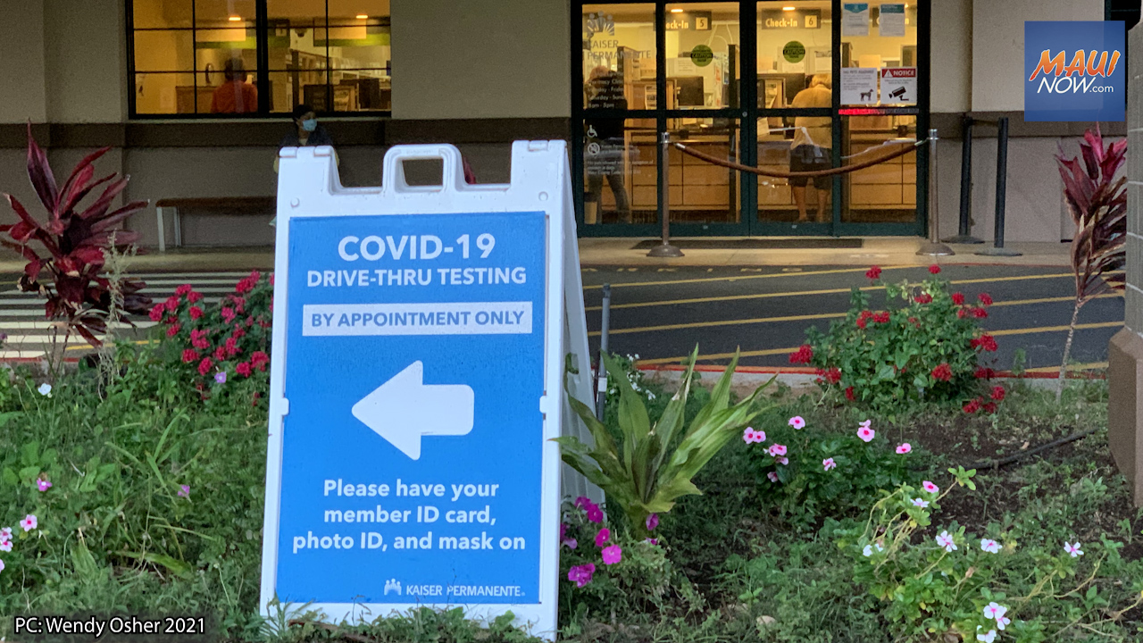 Oct. 8, 2021 COVID-19 Update: 201 New Cases in Hawai'i, 7 Deaths
