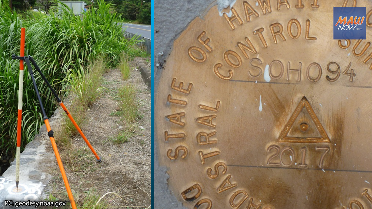 Public Help Sought in Collecting GPS Coordinates on Bench Marks in Maui County