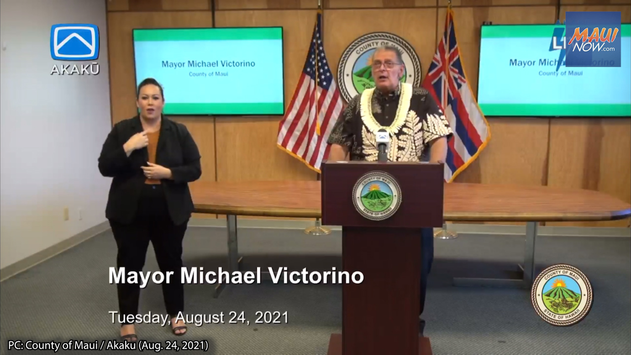 BREAKING: Maui Mayor Asks for Voluntary 21 Day Rest from Non-Essential Activity
