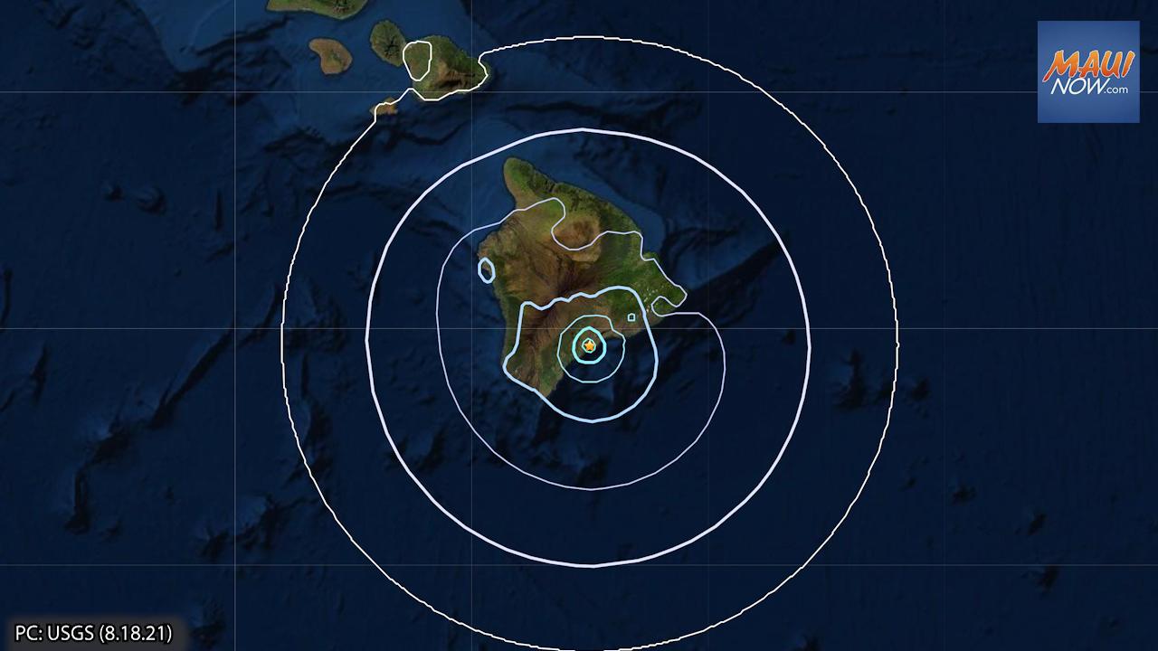 4.1 Tremor is Part of Earthquake Swarm Beneath Kīlauea's Lower SW Rift Zone