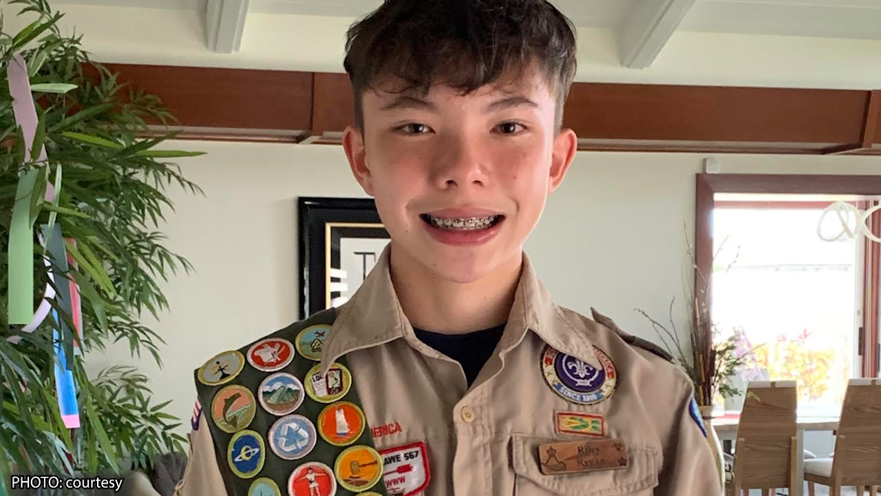 Former Maui Boy Hosts Marrow Donor Drive on Maui as Part of Eagle Scout Project