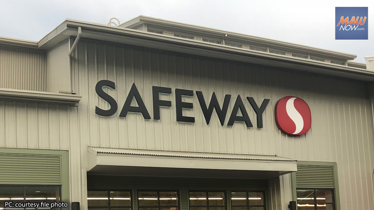Safeway Fundraises For Maui Food Bank, Low Breakfast Participation of Hawai'i