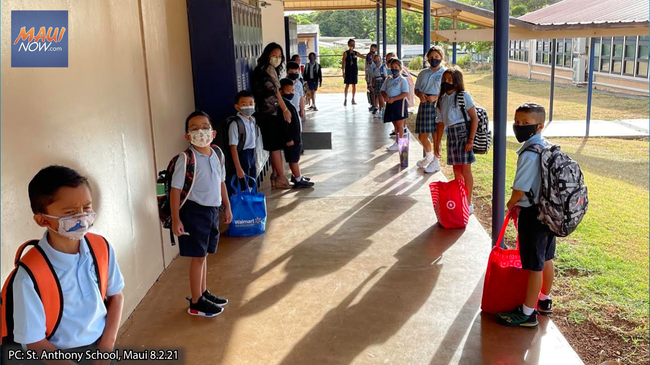St. Anthony School Begins In-Person Learning with New Leadership