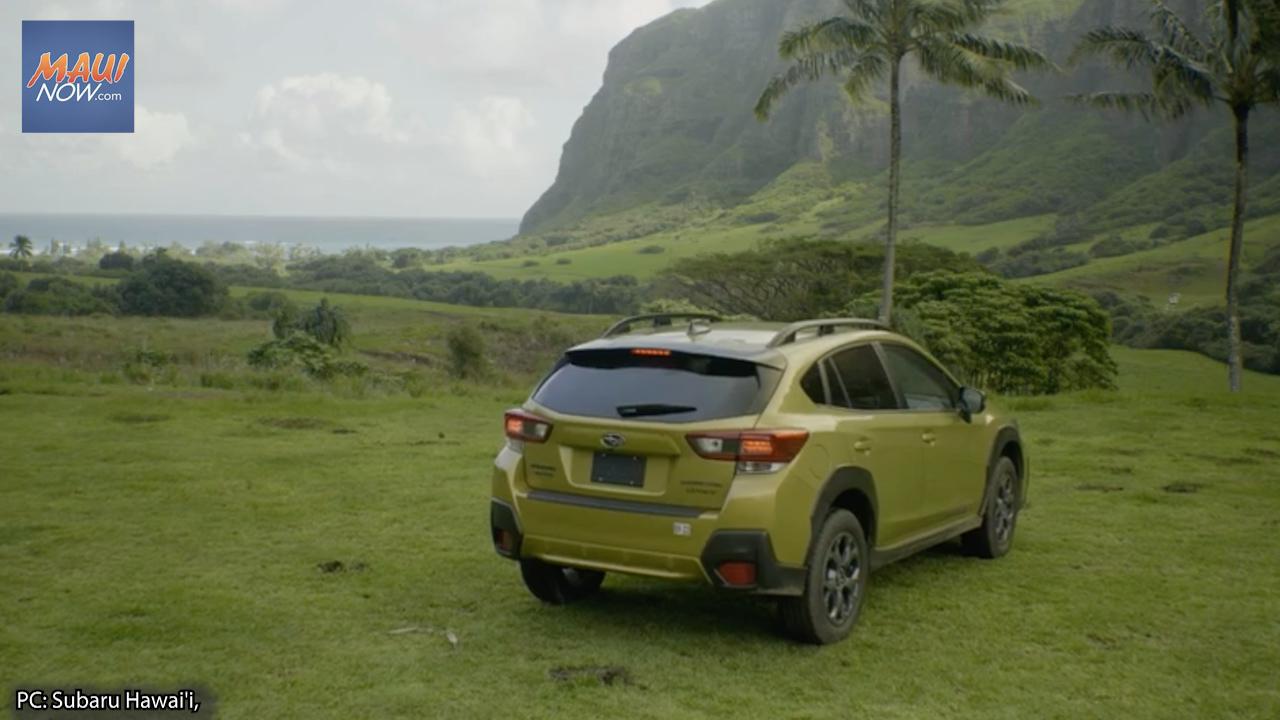 "Subaru Hawai'i Announces ""Shot for a Subaru"" Two-Year Crosstrek Sport Giveaway"