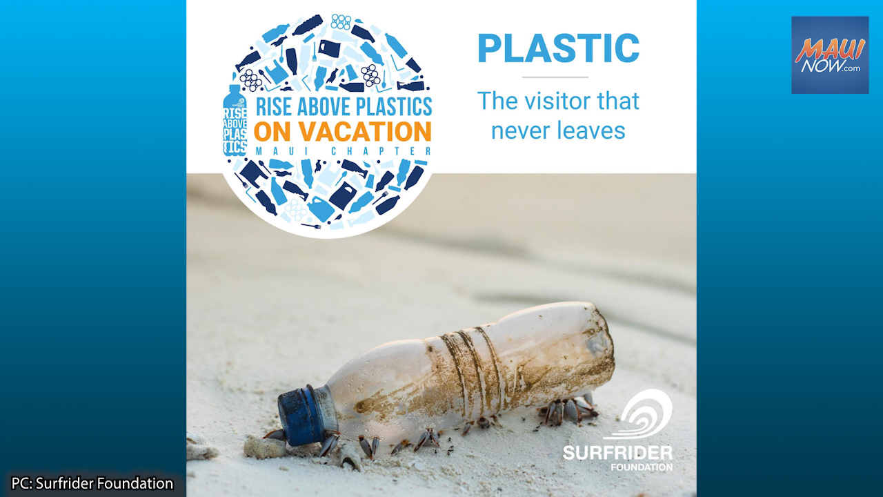 New Surfrider Program Aims to Reduce Single Use Plastic in the Visitor Industry