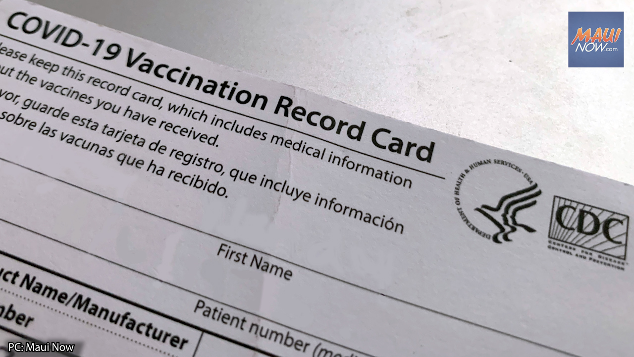 87.6% of State Employees in Hawaiʻi are Fully Vaccinated, 7.6% are Unvaccinated