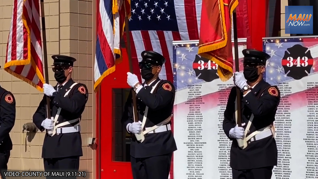 Maui Holds Remembrance Service, Marking 20 Year Anniversary of 9/11