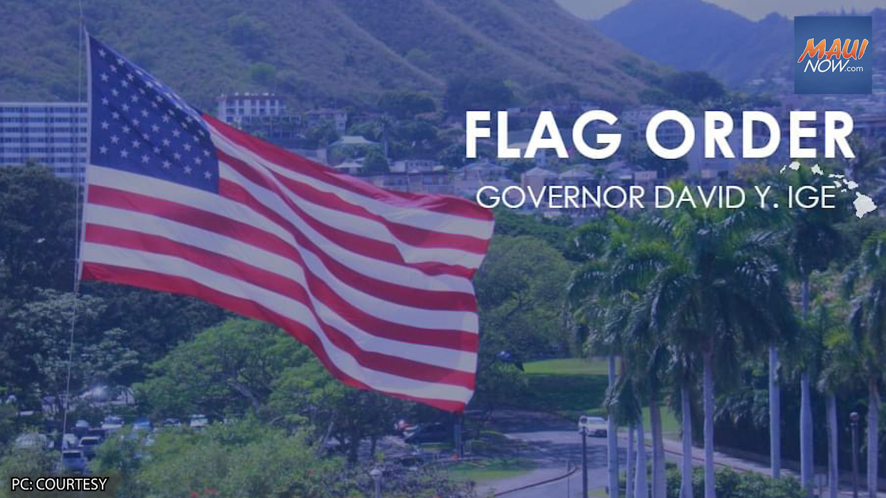 Flags Lowered to Half-Staff, Marking 20th Anniversary of 9/11