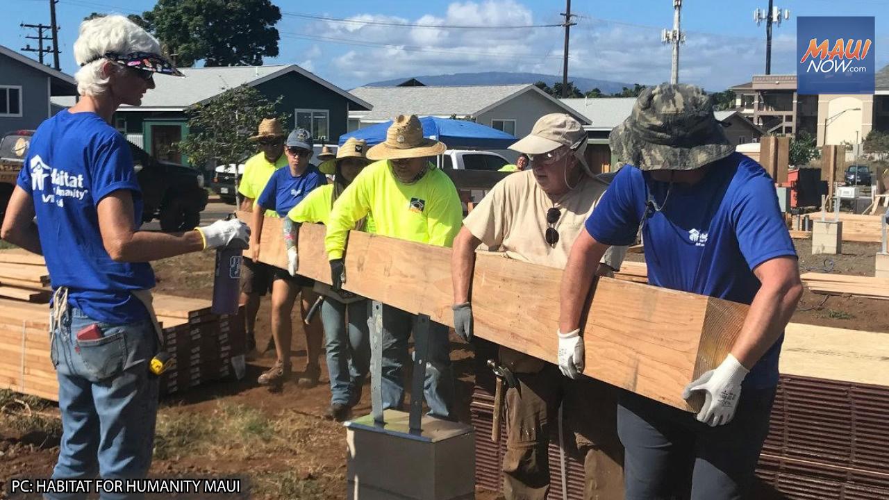 Habitat Maui Receives Funds from CHANGE Grants Program