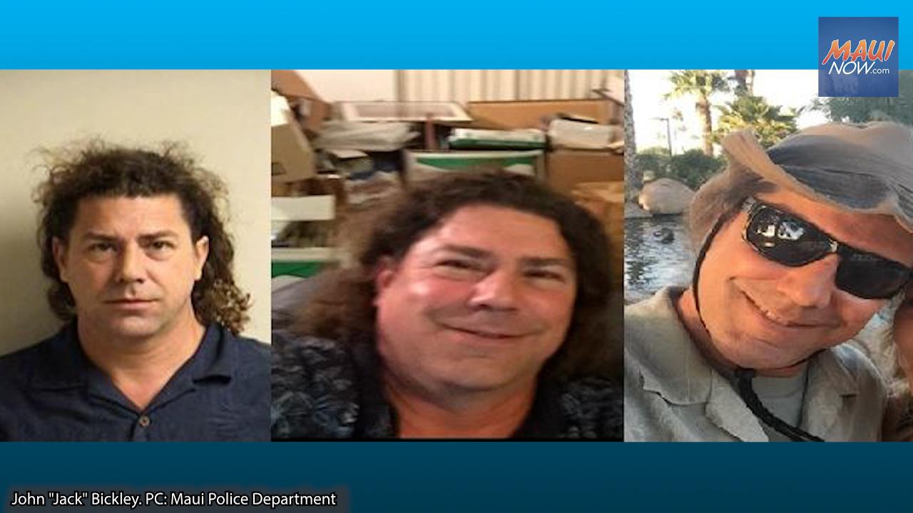 Missing Man Arrived on Maui From Arizona on Aug. 27