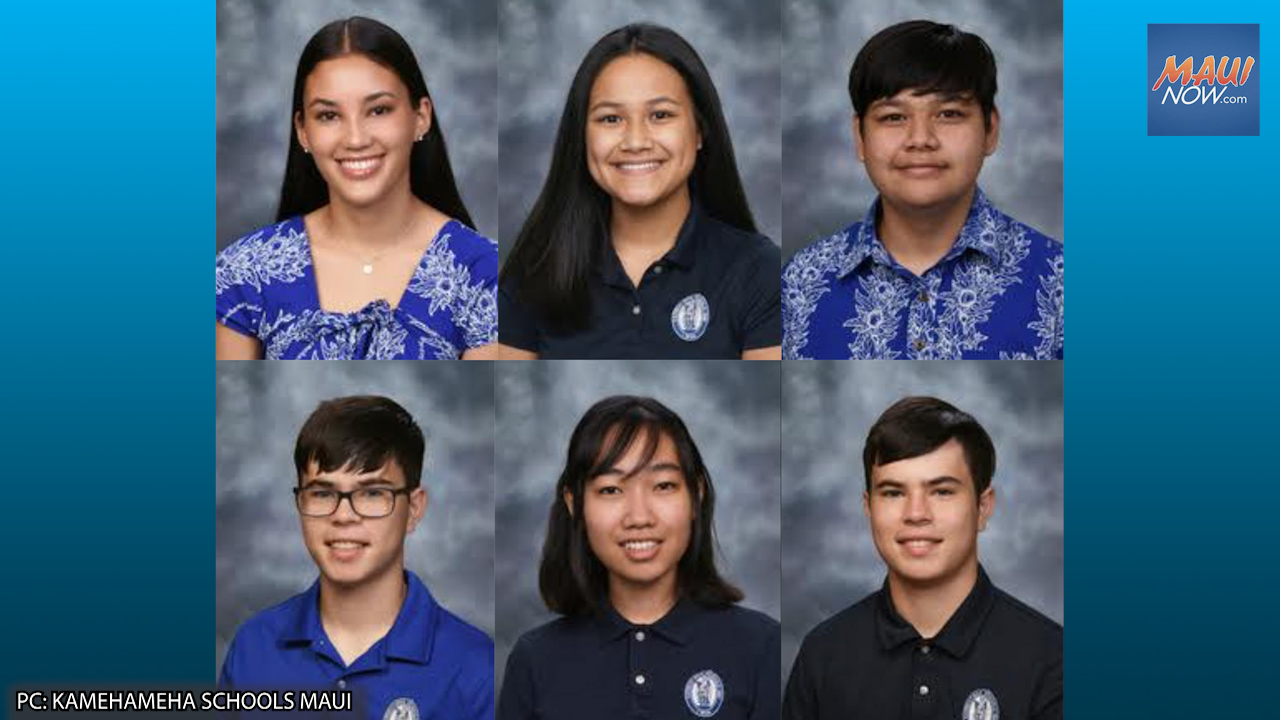 Kamehameha Schools Maui Students Awarded with National Academic Honors