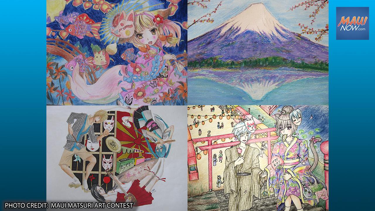 Maui Matsuri 2021 Art Contest Seeks K-12 Entries