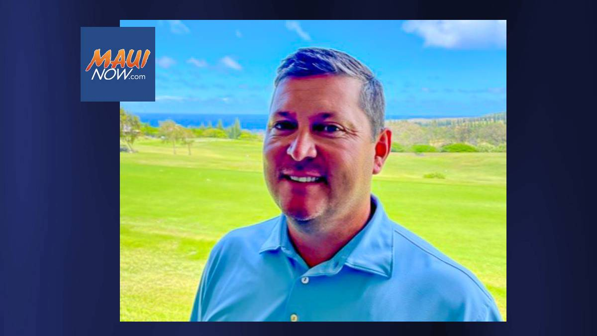 Kapalua Golf & Tennis Names Mark Nelson Head Golf Pro of Bay Course