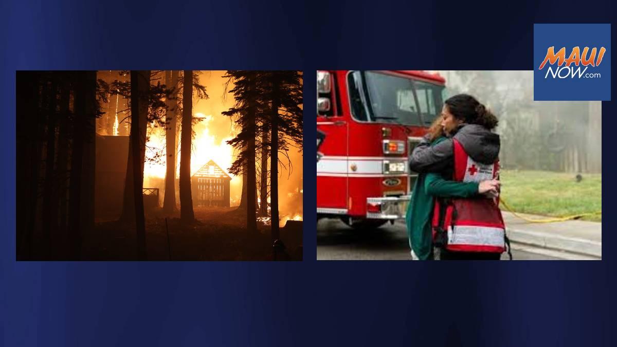 Hawaiʻi Red Cross Volunteers Deploy to Help Wildfire Response in California