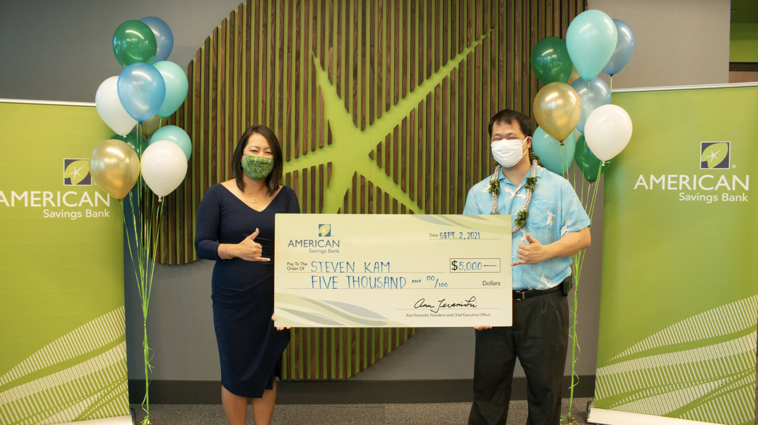 #HIGotVaccinated Entrant Wins $5,000 From American Savings Bank