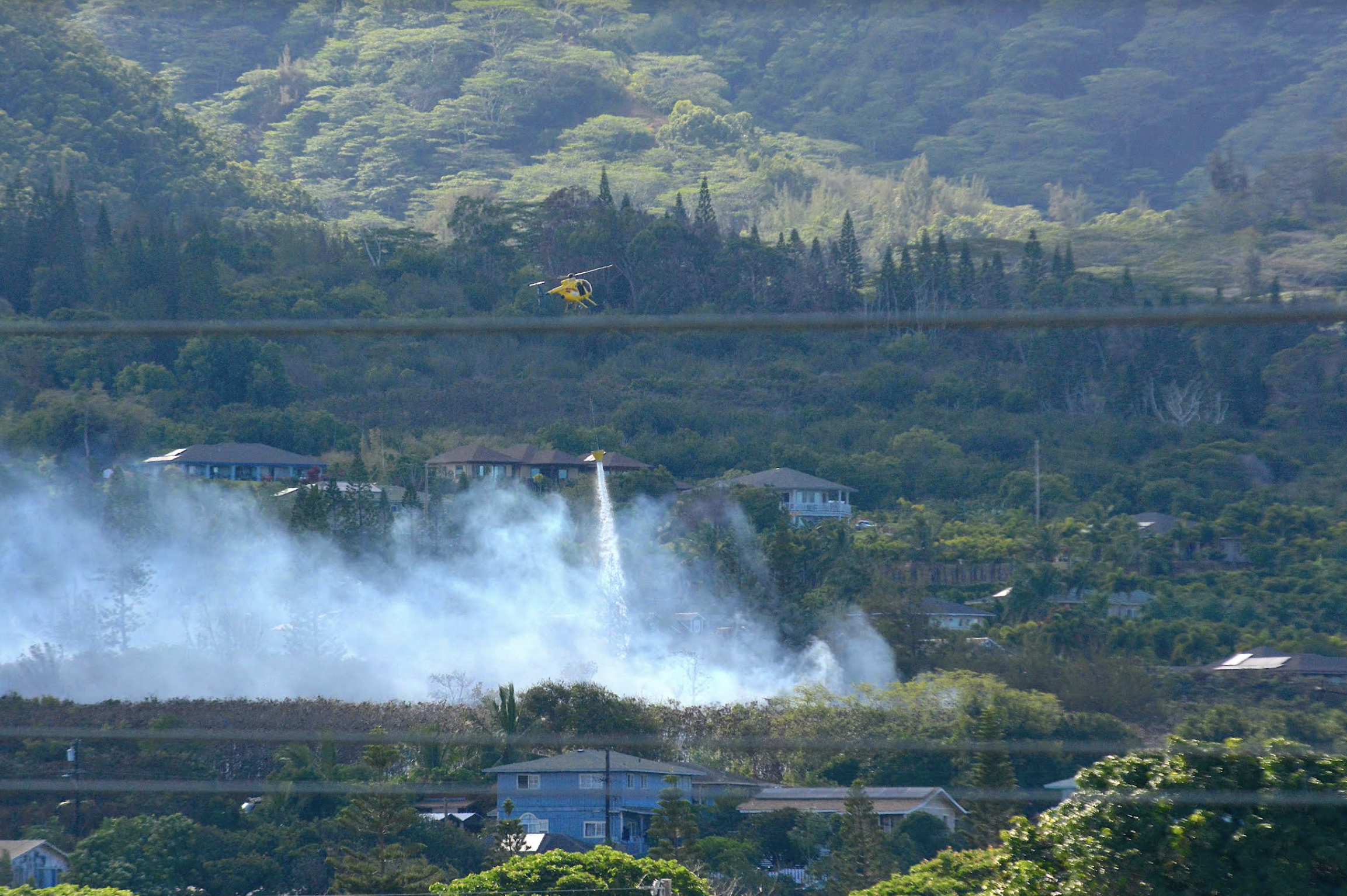 Wailuku Fire Burns 17 Acres, Now 100% Contained, Results in Piʻihana Evacuations