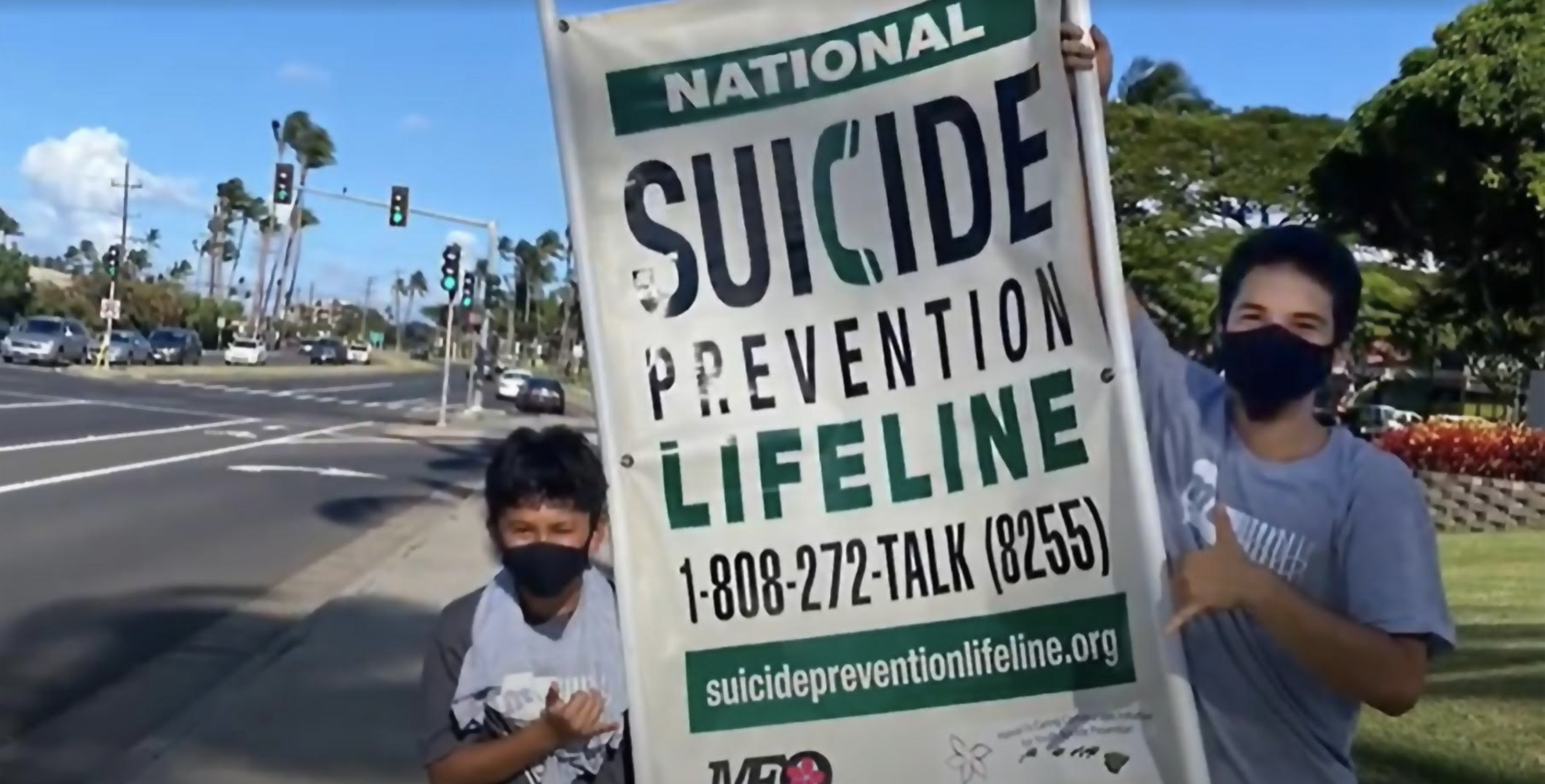Youth Offer Anti-Suicide Messages to Kick Off Suicide Prevention Month on Maui