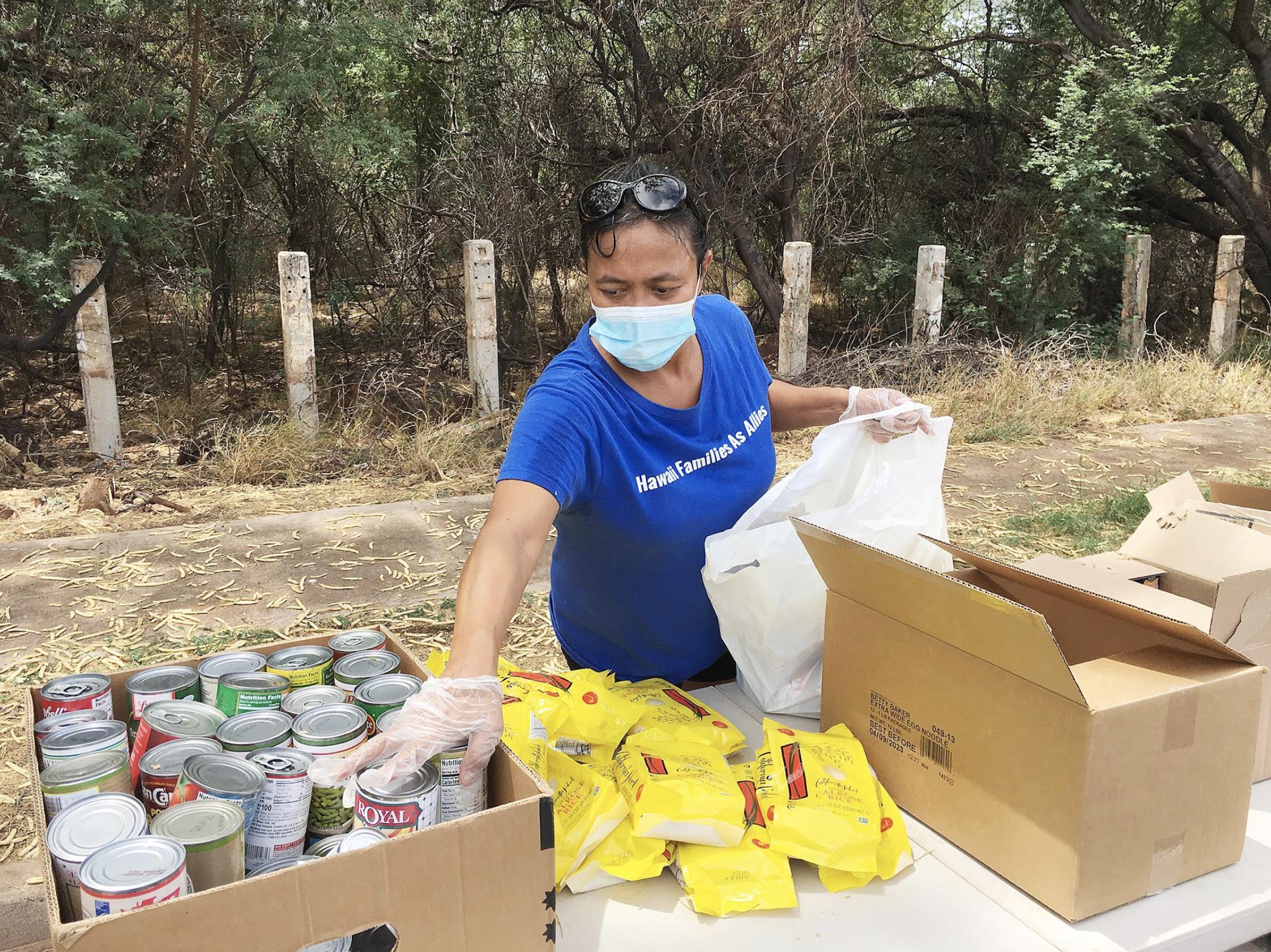 2,000 Pounds of Food Distributed on Moloka'i