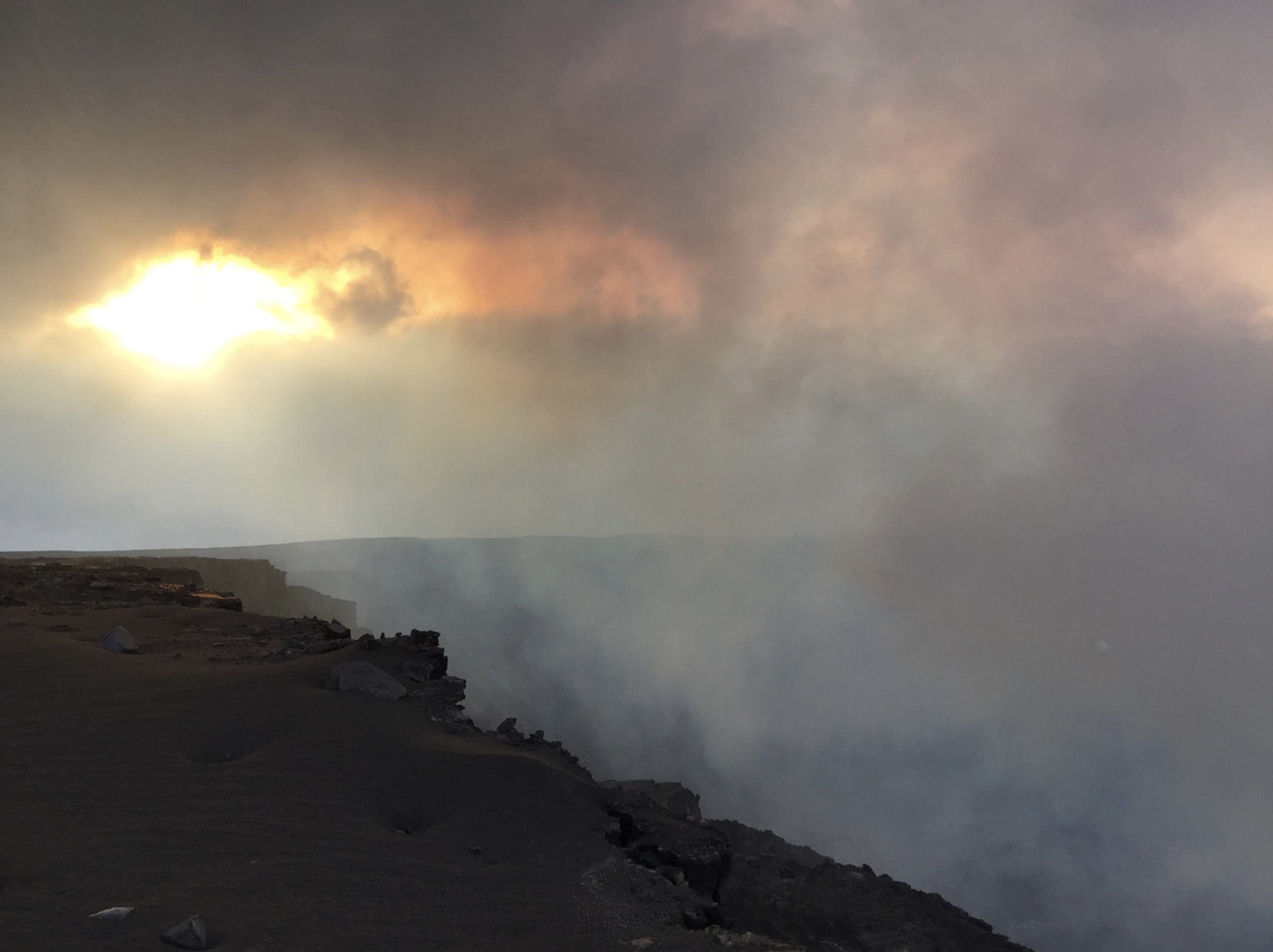 Kīlauea Eruption Creates Fluctuating Air Quality Levels for Vog and SO₂