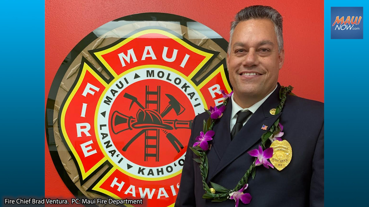 Brad Ventura Appointed New Maui County Fire Chief
