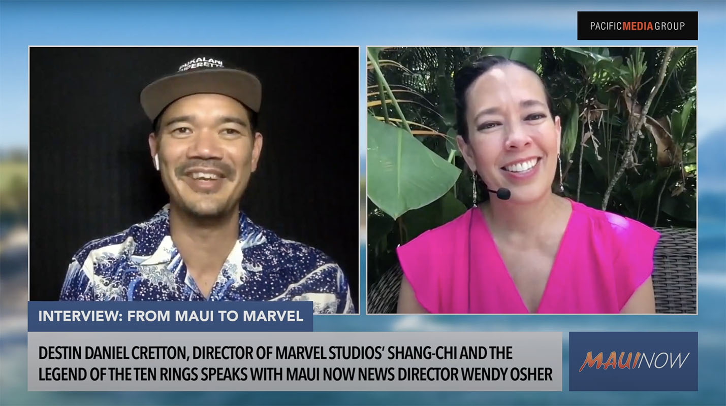 From Maui to Marvel: Shang-Chi Director, Destin Daniel Cretton - Interview
