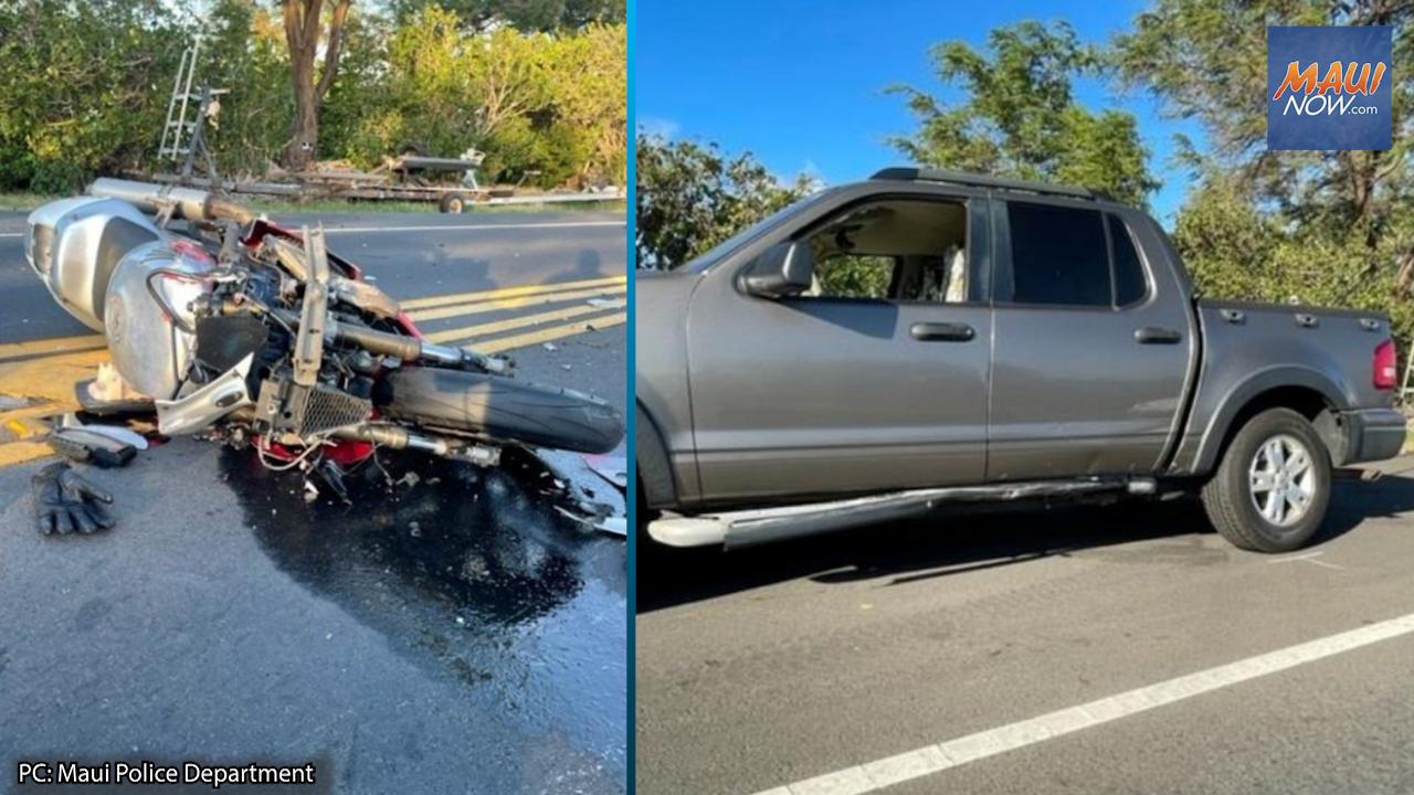 Maui Man Dies in Motorcycle Crash on North Kīhei Road