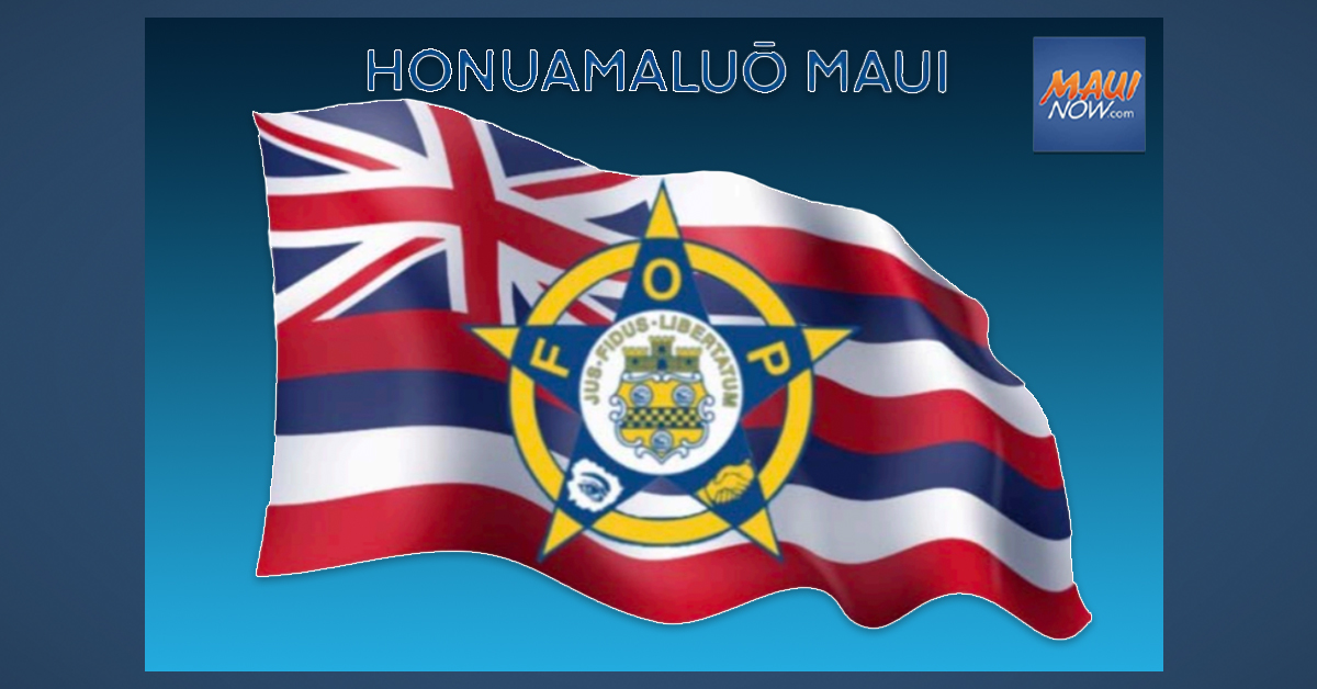 Fraternal Order of Police Launches Maui Chapter
