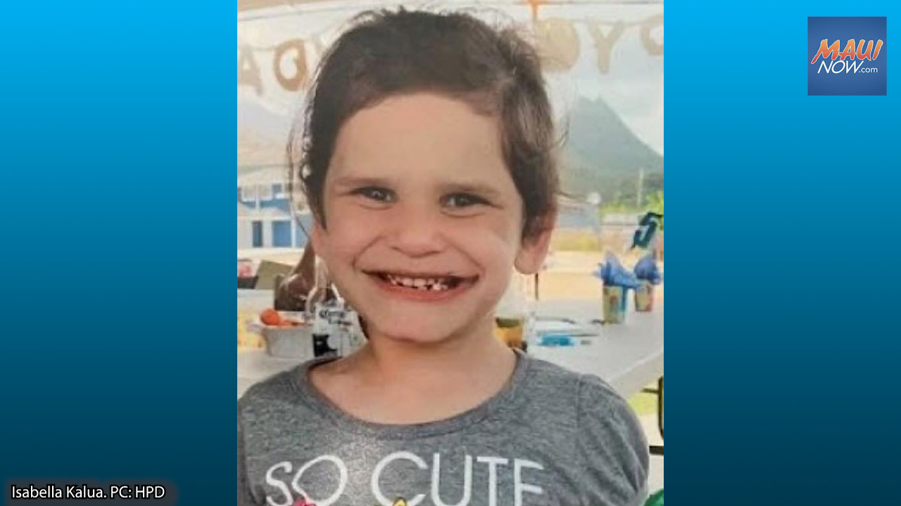Search Fans Out for a Missing 6-Year-Old O'ahu Girl; Foul Play Not Ruled Out
