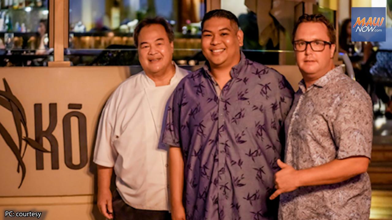 Jonathan Pasion is New Executive Chef for Kō at Fairmont Kea Lani