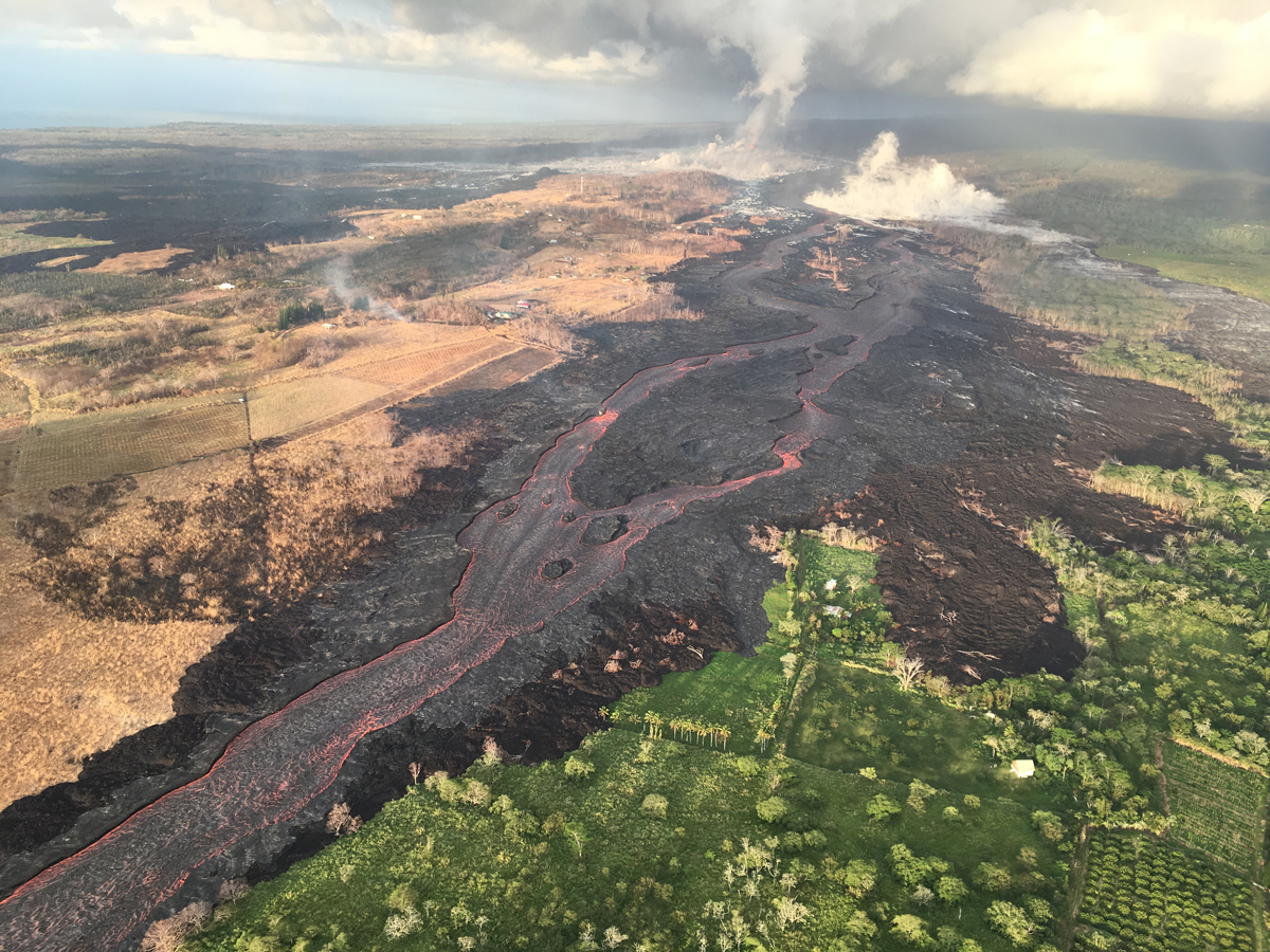 Volcano Watch: How does HVO determine which regions are most threatened by lava flows?