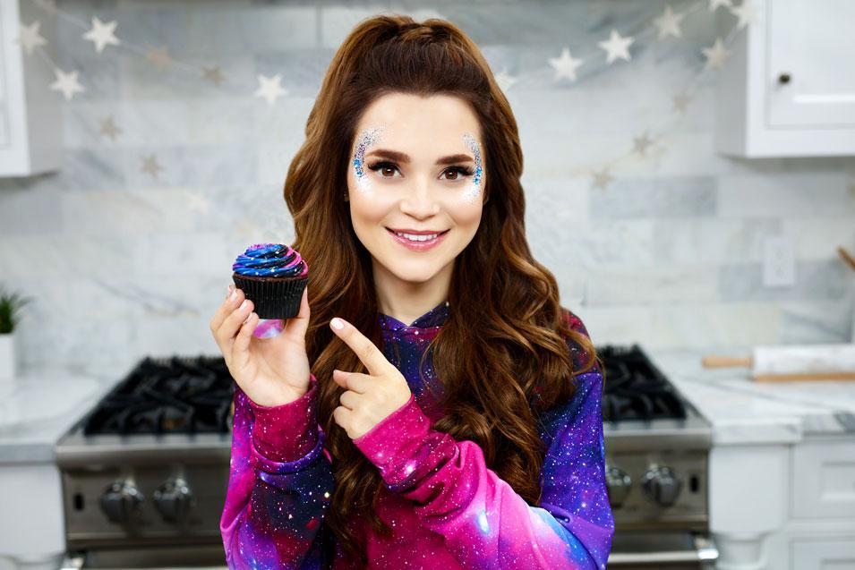 Rosanna Pansino Hosting Halloween Virtual Cup Cake Decorating for Kids