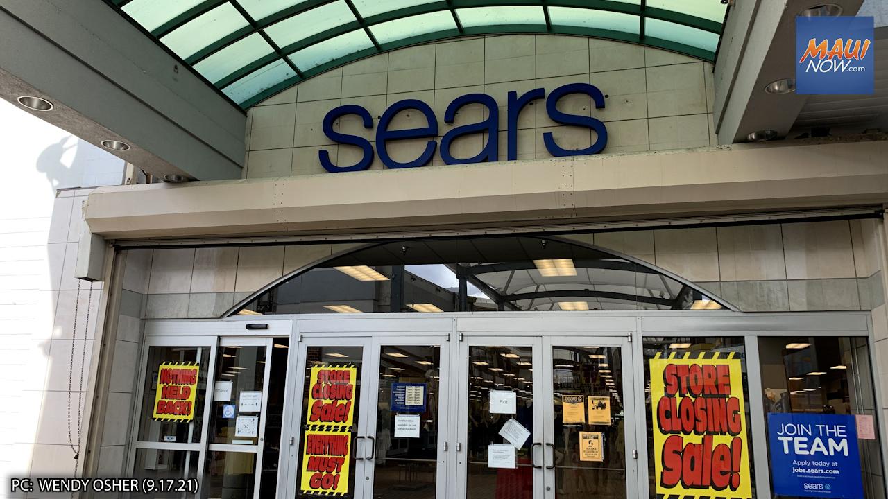 BREAKING: Sears at Queen Ka'ahumanu on Maui Officially Closing November 14