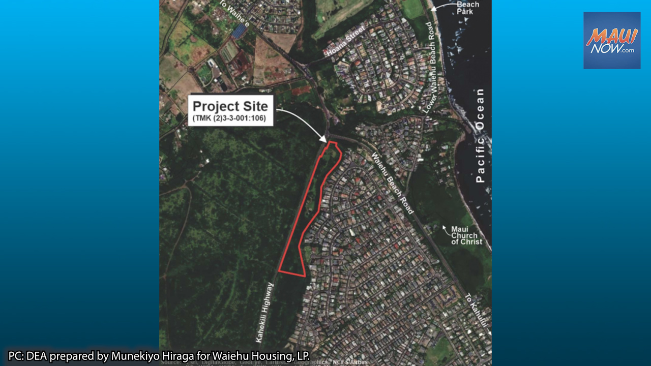 100% Affordable Housing Project Proposed on 11 Acres in Waiehu, Maui