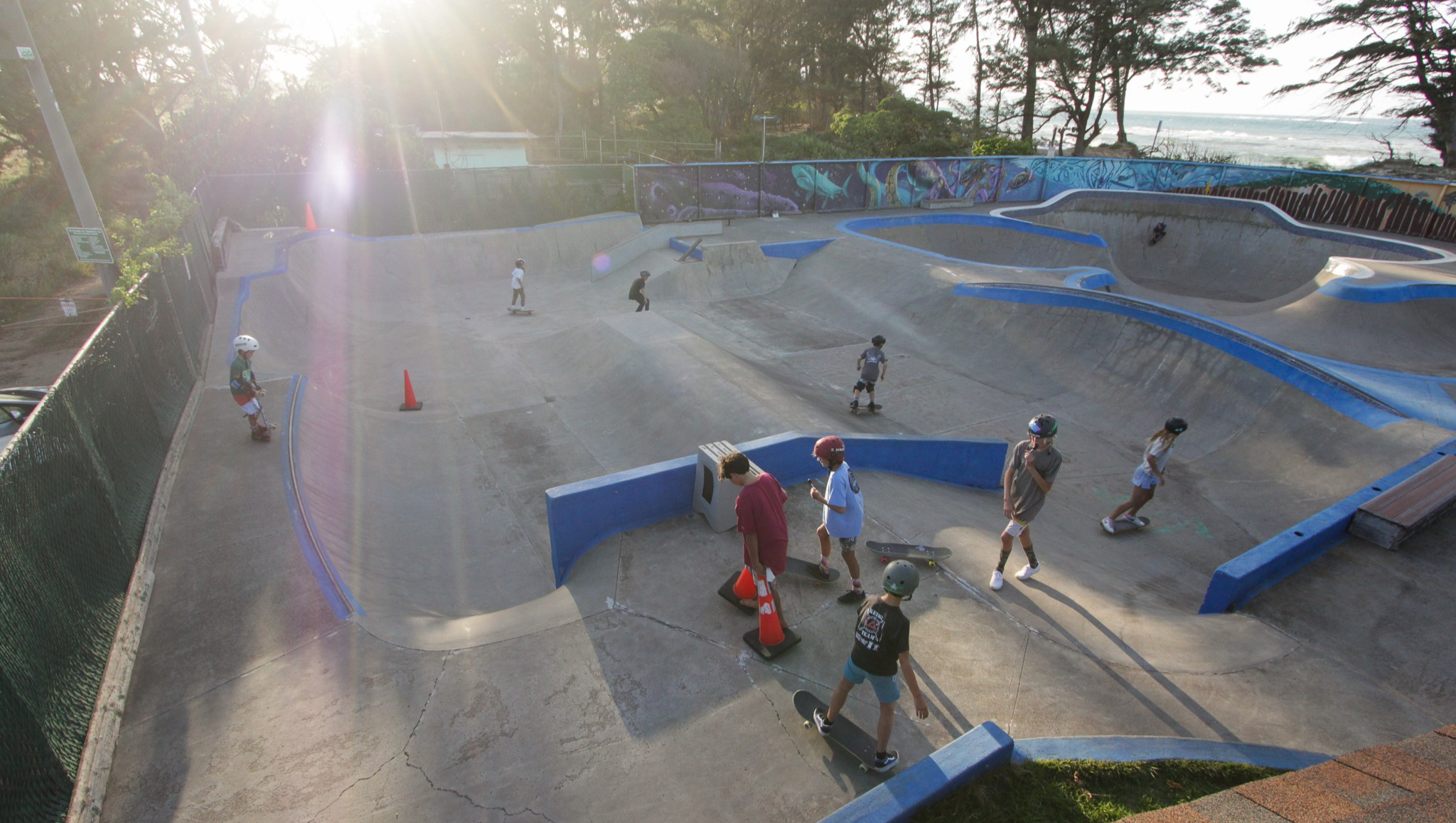 GoFundMe Account Set Up for Repairs of  StoneWave Skate Park in Pā'ia