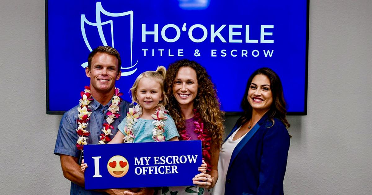 Realogy Title Group and Ho'okele Title & Escrow Announce Strategic Partnership