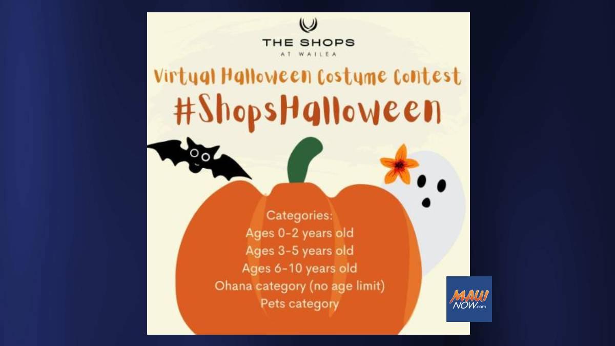 Spooktacular Virtual Halloween Costume Contest  Oct.  1-24