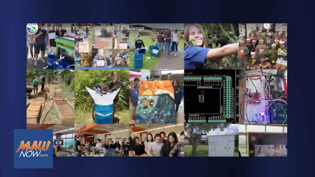 Last Call for Applications for Hawaiʻi Youth Sustainability Challenge