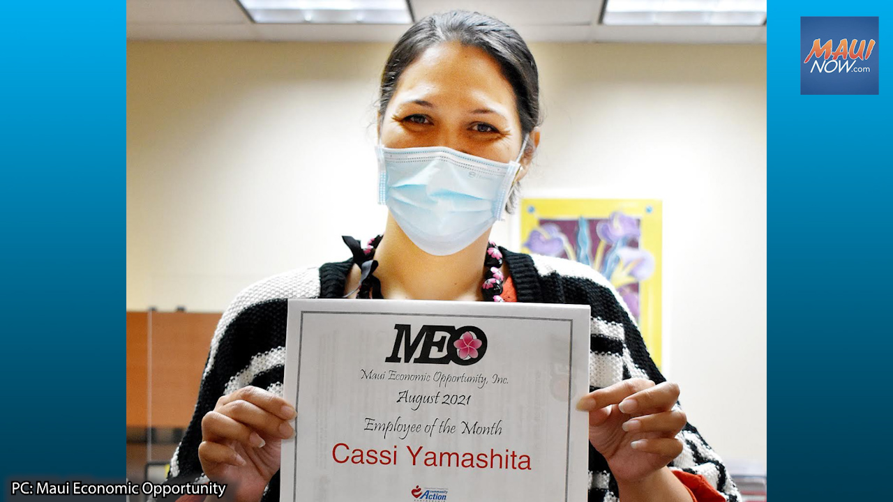Cassi Yamashita is MEO's Employee of the Month