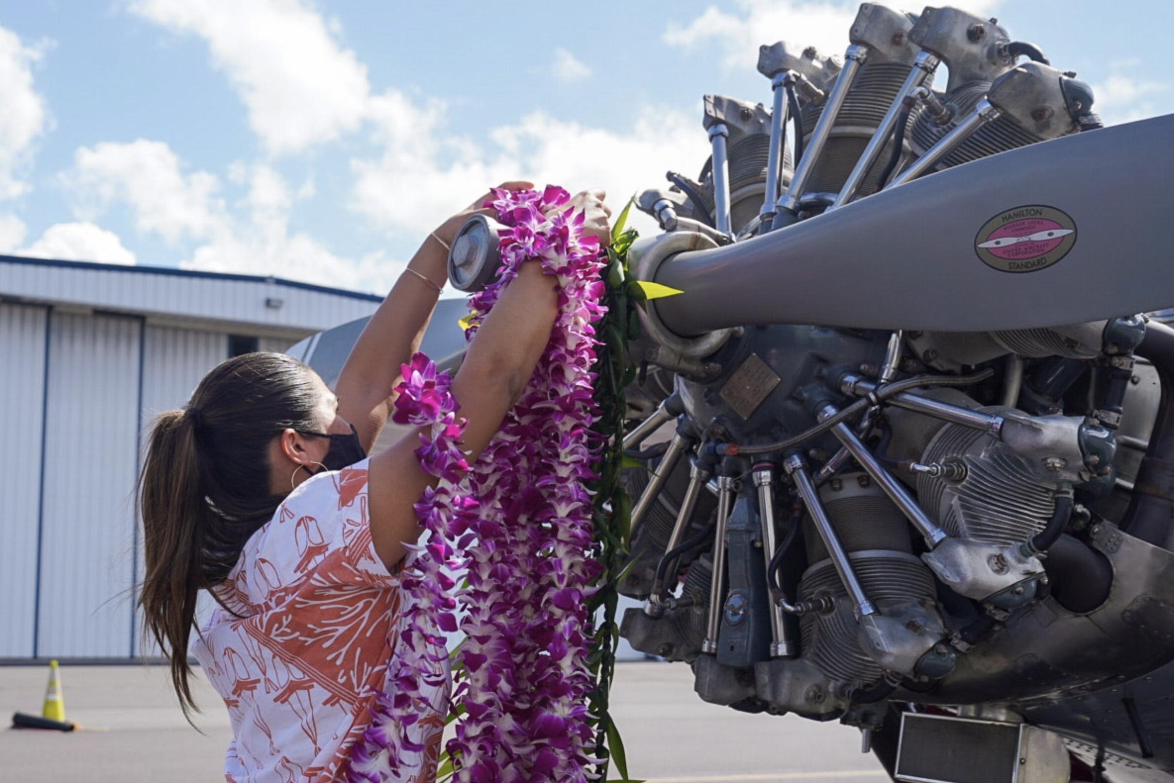 Hawaiian Celebrates 92nd Birthday of its First-Ever Company Airplane