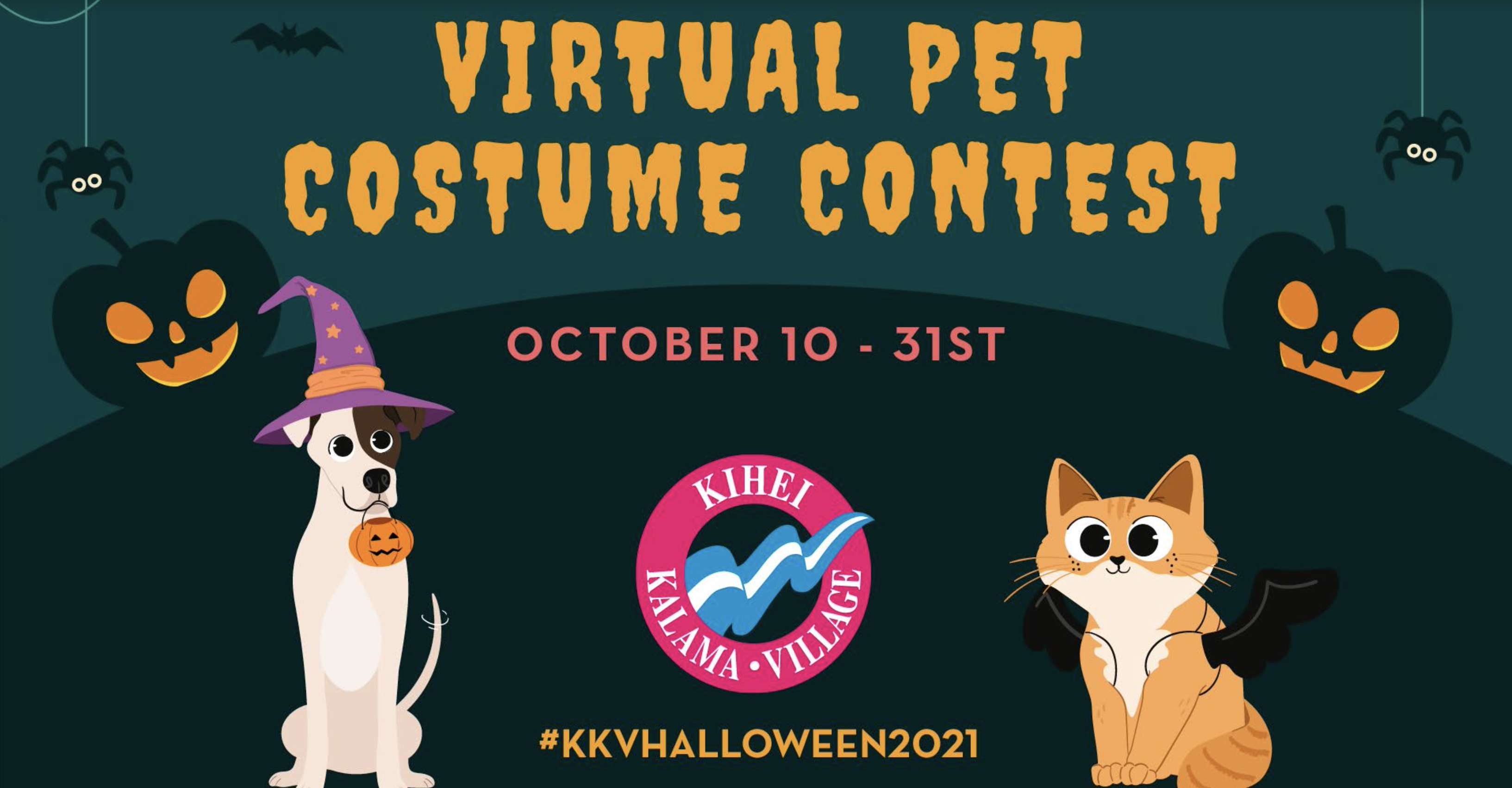 Virtual Pet Costume Contest at Kīhei Kalama Village