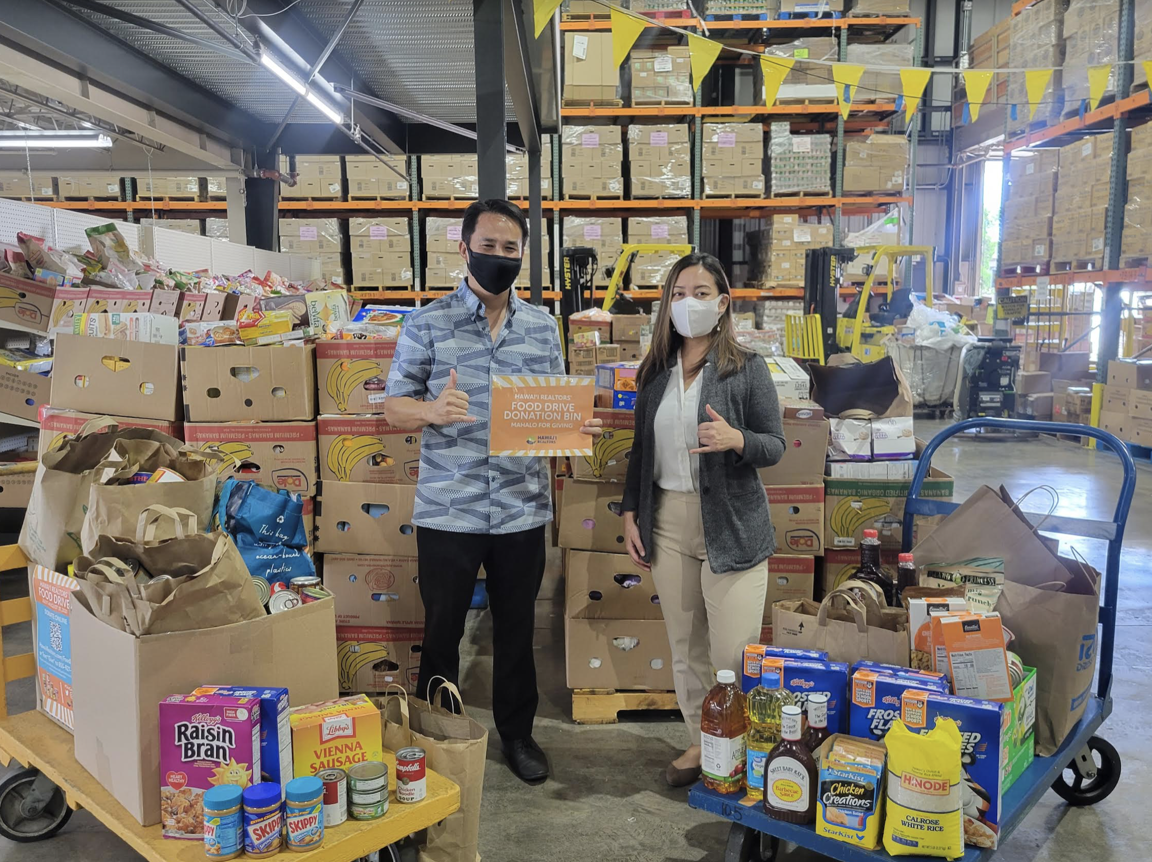 Charitable Foundation Collects $19K and 3,500 Pounds of Food for Island Food Banks