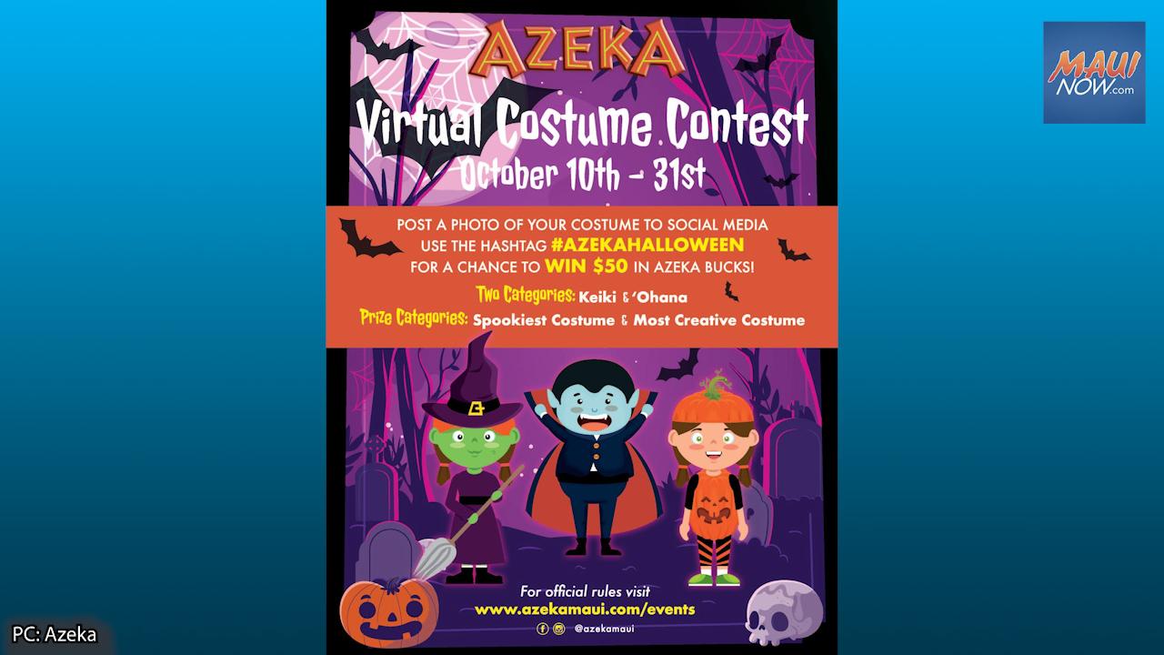 Azeka Shopping Center Hosts Virtual Costume Contest