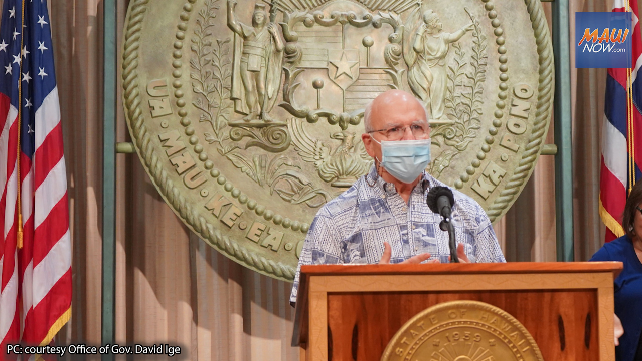 Hawai'i's Health Care System has Stabilized: Easing of COVID-19 Restrictions for O'ahu