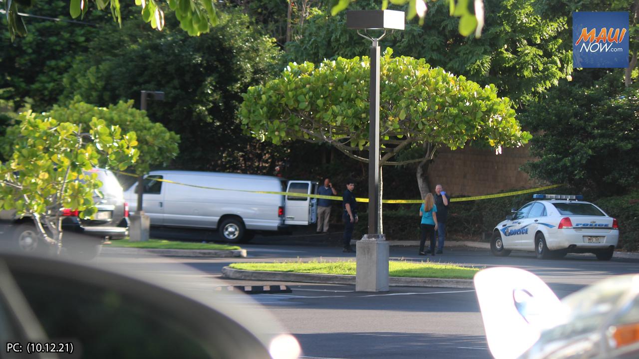 Update: Police Investigation at Kaiser Wailuku Parking Lot