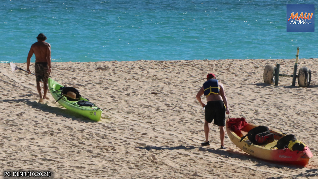 Kailua Kayak Operator Fined $25,000 for Unpermitted Commercial Activity