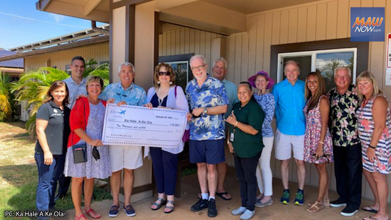 Ka Hale A Ke Ola Homeless Resource Centers is Recipient of $25K Donation