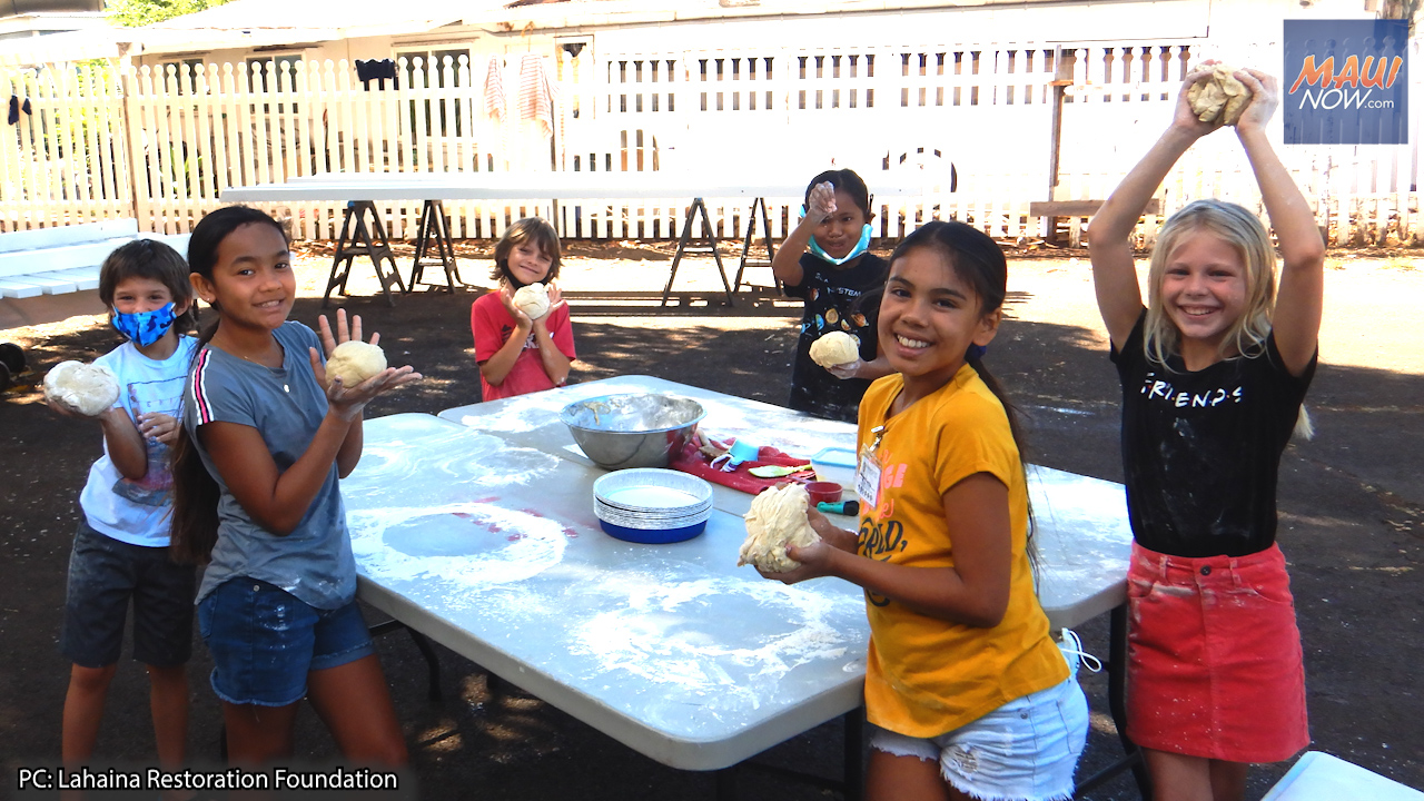 The Lahaina Restoration Foundation Hosts Lahaina Quest Culture Camps