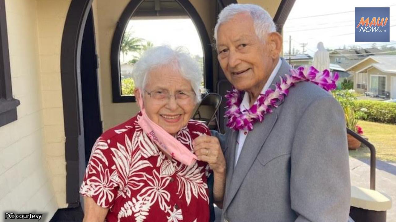 Maui Couple Honored as Hawai'i's Longest Married by Worldwide Marriage Encounter