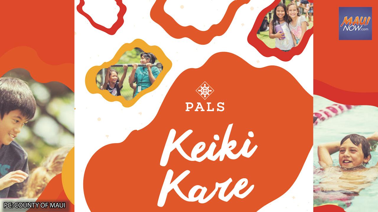 PALS Keiki Kare Winter Program Registration Announced
