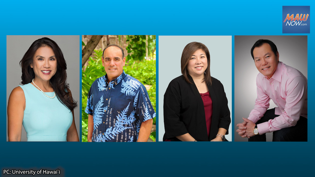 4 Distinguished Alumni Inducted to University of Hawaiʻi's Shidler Hall of Honor
